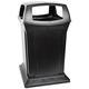 Rubbermaid 917388BLA Ranger 45-Gallon Fire-Safe Structural Foam Square Container (Black)