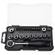 Stanley STMT74868 24-Piece 1/4 in. Metric Drive Mechanics Wrench, Socket & Bit Set