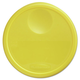 Rubbermaid 5730YEL 13-1/2 in. x 2-3/4 in. Round Storage Container Lid (Yellow)