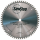 SawStop CB104-184 10 in. 60-Tooth Combination Table Saw Blade