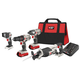 Factory Reconditioned Porter-Cable PCCK615L4R 20V MAX Cordless Lithium-Ion 4-Tool Compact Combo Kit
