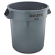 Rubbermaid 2610GRA 10 Gal. Round Brute Container (Gray)