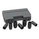 GearWrench 41650 7-Piece 1/2 in. Drive 6-Point Metric Axle Nut Socket Set