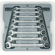 GearWrench 9308D 8-Piece Standard Fractional Combination Wrench Set