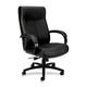 Basyx VL685SB11 VL680 Big & Tall Leather Office Chair (Black)