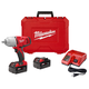 Milwaukee 2662-22 M18 18V Cordless 1/2 in. Lithium-Ion High Torque Impact Wrench Kit with 2 Batteries