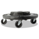 Rubbermaid 264043BLA 250 lb. Capacity Brute Quiet Dolly (Black)