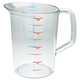 Rubbermaid 3218CLE 4 qt. Bouncer Measuring Cup (Clear)