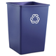 Rubbermaid 395873BLU 35 Gal. Recycling Container (Blue)