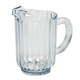 Rubbermaid 333800CR 60 oz. Bouncer Plastic Pitcher (Clear)