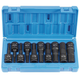 Grey Pneumatic 1398H 10-Piece 1/2 in. Drive SAE Hex Impact Driver Socket Set
