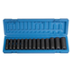 Grey Pneumatic 1412MD 14-Piece 1/2 in. Drive 6-Point Metric Deep Socket Set