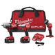 Factory Reconditioned Milwaukee 2796-83 M18 FUEL Cordless Lithium-Ion 3-Tool Combo Kit