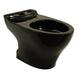 TOTO CT416-51 Aquia Elongated Floor Mount Toilet Bowl (Ebony)