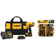 Dewalt DCD771C2-1354-BNDL 20V MAX Cordless Lithium-Ion 1/2 in. Compact Drill Driver Kit with 14-Piece Titanium Drill Bit Set