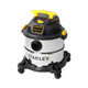 Stanley SL18115 4.0 Peak HP 5 Gallon Portable S.S. Wet Dry Vac with Casters