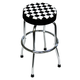 ATD 81055 Shop Stool with Checker Design