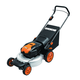 Worx WG770 36V Cordless Ni-MH 19 in. 2-in-1 Mower with Single Lever Depth Setting