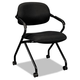 Basyx VL303MM10T CHAIR,MESH FABRIC,ARMS,BK