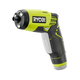 Factory Reconditioned Ryobi ZRHP54L 4V Cordless TEK4 Lithium-Ion 1/4 in. Hex Screwdriver