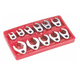 ATD 1190 11-Piece Crowfoot Wrench Set Metric