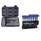 ATD 1200H 44-Piece 1/4 in. Drive 6-Point SAE & Metric Pro Socket Set w/FREE 10-Piece Metric T-Handle Hex Key Set