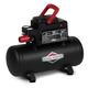 Briggs & Stratton 100341 3 Gallon 1/3 HP 100 PSI Hotdog Air Tank