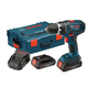 Bosch DDS181A-02L Compact Tough 18V 2.0 Ah Cordless Lithium-Ion 1/2 in. Drill Driver Kit with L-BOXX Case