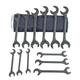 Martin Sprocket & Gear BOB18K 8-Piece Hydraulic Wrench Set (Black Finish)