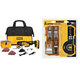 Dewalt DCS355D1-4216-BNDL 20V MAX XR Cordless Lithium-Ion Brushless Oscillating Multi-Tool Kit with 5-Piece Blade Set
