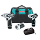Makita LCT319W 3 Pc. 12V max Lithium-Ion Cordless Combo Kit with Impact Driver