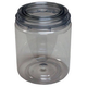 EZ Mix 10032 E-Z View Clear Plastic Paint Can Quart