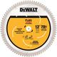 Dewalt DWAFV31278 12 in. 78T Miter Saw Blade