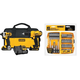 Dewalt DCK240C2-2166-BNDL 20V MAX Cordless Lithium-Ion Drill Driver & Impact Driver Kit with 45-Piece Screwdriving Bit Set