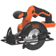 Black & Decker BDCCS20B 20V MAX Cordless Lithium-Ion 5-1/2 in. Circular Saw (Bare Tool)