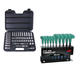 ATD 1245T 47-Piece 3/8 in. Drive 6-Point SAE & Metric Pro Socket Set w/FREE 10-Piece Star T-Handle Set