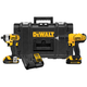 Factory Reconditioned Dewalt DCKTS240C2R 20V MAX Cordless Lithium-Ion Drill Driver and Impact Driver Combo Kit with ToughSystem