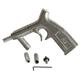 ALC Tools & Equipment 40153 Complete Gun with 3 Medium Nozzles