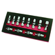 Astro Pneumatic 7412 12-Piece 1/4 in. Dr. 6 Point Flex Socket Set