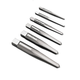 Irwin Hanson 53645 6-Piece Straight Flute Screw Extractor Set