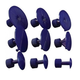 Dent Fix Equipment DF-DM520DT Plastic Ding Massager Tabs 9-Piece