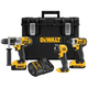 Factory Reconditioned Dewalt DCKTS390DM2R 20V MAX Cordless Lithium-Ion 3-Tool Combo Kit with DS400 XL ToughSystem Case