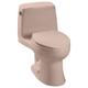TOTO MS853113E-03 Eco UltraMax Round 1-Piece Floor Mount Toilet (Bone)