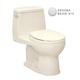 TOTO MS853113S-12 UltraMax Round 1-Piece Floor Mount Toilet (Sedona Beige)