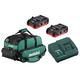 Metabo US625343002 18V 2X 3.1 Ah LiHD Ultra-M Compact Kit