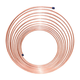AGS CNC-325 NiCopp Nickel/Copper Brake Line Tubing Coil 3/16 in. x 25 in.