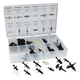 ATD 39356 60-Piece Push-Pin Type Retainer Assortment