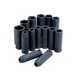 ATD 4301 14-Piece 1/2 in. Drive 6-Point Metric Deep Impact Socket Set