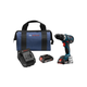 Bosch DDS183-02 18V 2.0 Ah Cordless Lithium-Ion Brushless Compact Tough 1/2 in. Drill Driver Kit