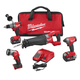Factory Reconditioned Milwaukee 2896-84 M18 FUEL Cordless Lithium-Ion 4-Tool Combo Kit